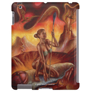 Spear Woman iPad Case