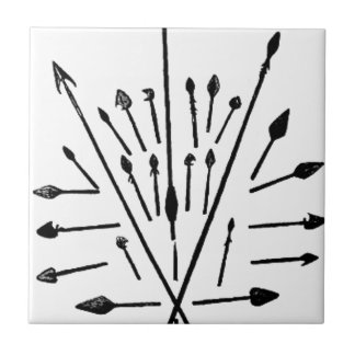 Spears and Arrows Tile