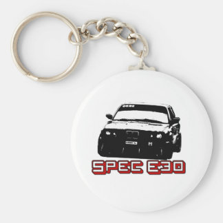 Spec E30 Car Key Ring