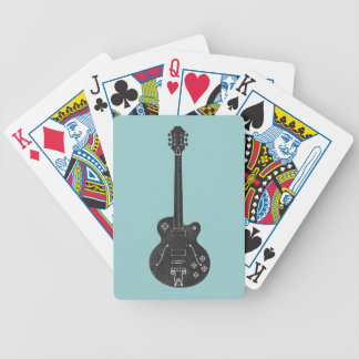 Spec Guitar Bicycle Playing Cards