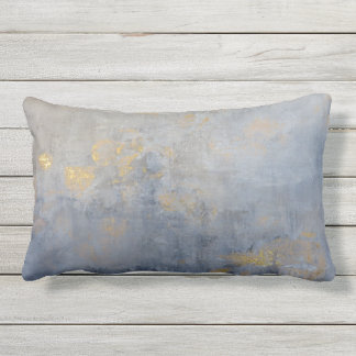 Spec of Gold Outdoor Pillow