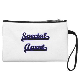 Special Agent Classic Job Design Wristlet Clutches