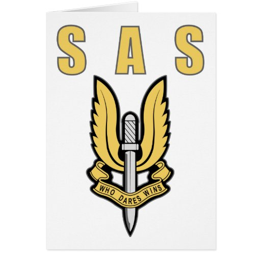 Special Air Service Card