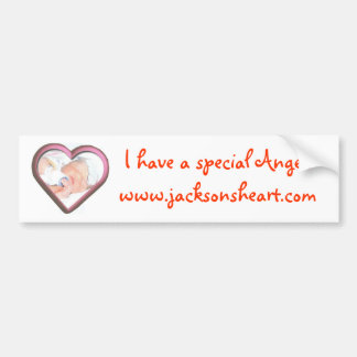 Special Angel Car Bumper Sticker