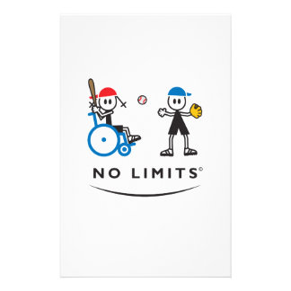 Special Batting Girl Stationery Paper