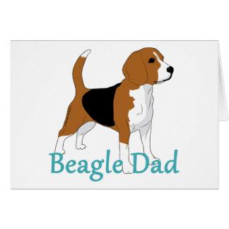 Special Beagle Dad Blank Card