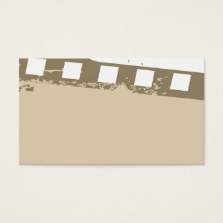 special but unique movie business card temp