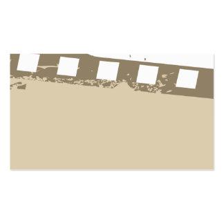 special but unique movie business card temp