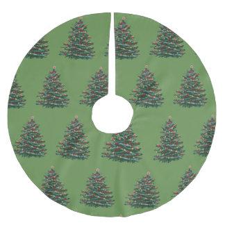 Special christmas  Custom Tree Skirt