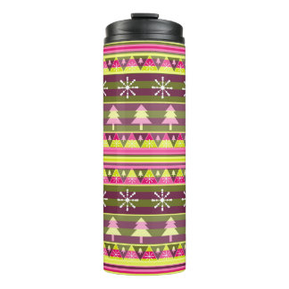 Special Christmas pattern Thermal Tumbler