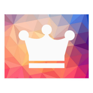 Special Crowns Graphic Postcard