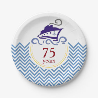 Special Cruise Celebration Paper Plates 7 Inch Paper Plate