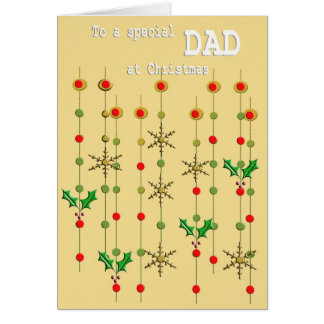 Special Dad Christmas Card