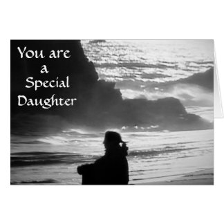 SPECIAL DAUGHTER BIRTHDAY GREETING CARD
