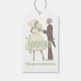 Special Day Bride and Groom Gift Tags