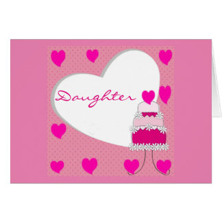 SPECIAL DAY **SPECIAL DAUGHTER** HAPPY BIRTHDAY CARD