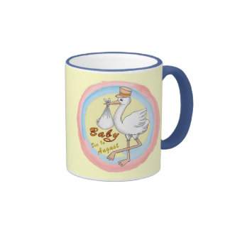 Special Delivery April Baby Coffee Mug