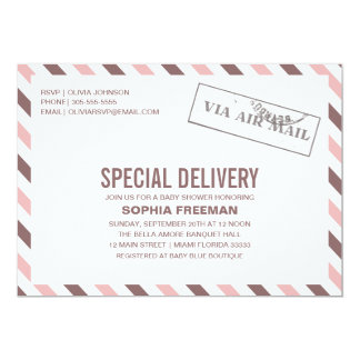 SPECIAL DELIVERY | BABY SHOWER INVITATION
