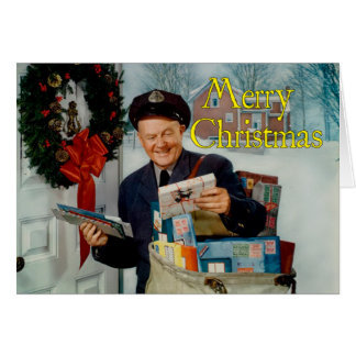 """""""Special Delivery"""" Christmas Card"""