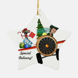 Special Delivery Christmas Ornament