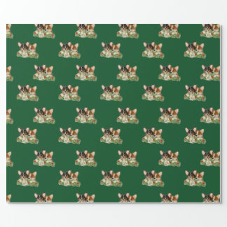 """Special Delivery"" Corgi Wrapping Paper"