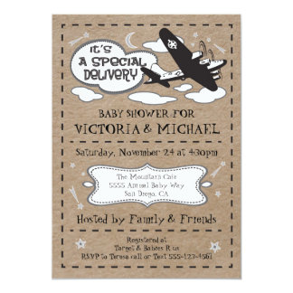 Special delivery Gender Neutral Baby Shower Card