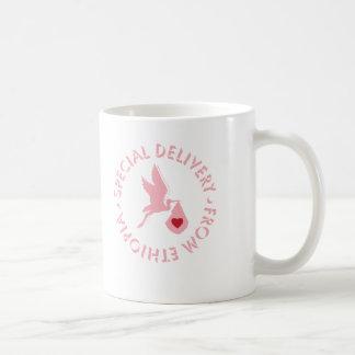 Special Delivery Mug - Pink
