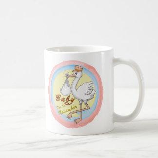 Special Delivery November Baby Mug