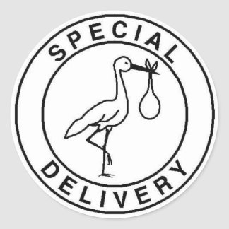 Special Delivery Stickers