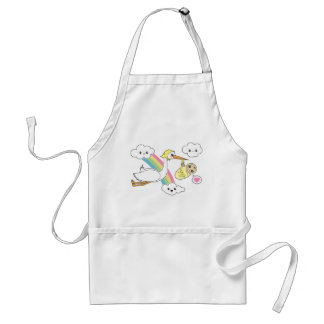 Special Delivery - Stork Baby Aprons