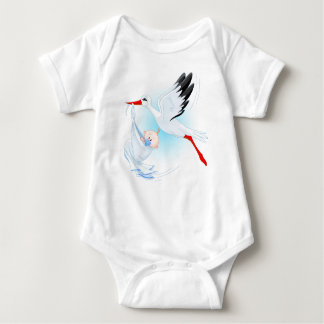 """Special Delivery"" Stork Baby Bodysuit 1"