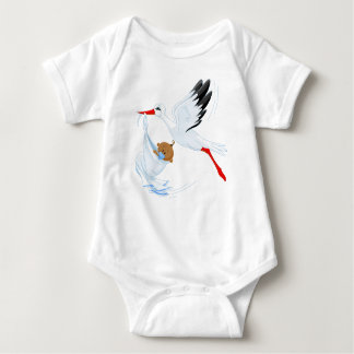 """""""Special Delivery"""" Stork Baby Bodysuit 2"""