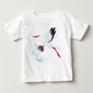 """""""Special Delivery"""" Stork Baby T-Shirt 3"""