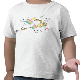 Special Delivery - Stork Baby T Shirt