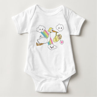 Special Delivery - Stork & Baby Shirt