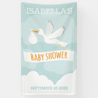 Special Delivery Stork Gender Neutral Baby Shower
