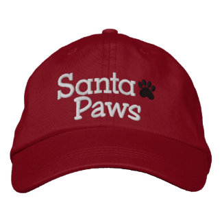SPECIAL DISCOUNT SANTA PAWS Cap Embroidered Hats