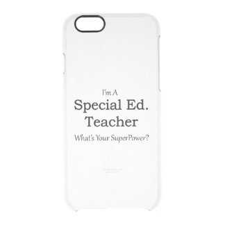 Special Ed. Teacher Clear iPhone 6/6S Case