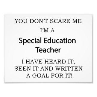 Special Ed. Teacher Photo Print