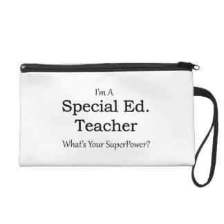 Special Ed. Teacher Wristlet Clutch