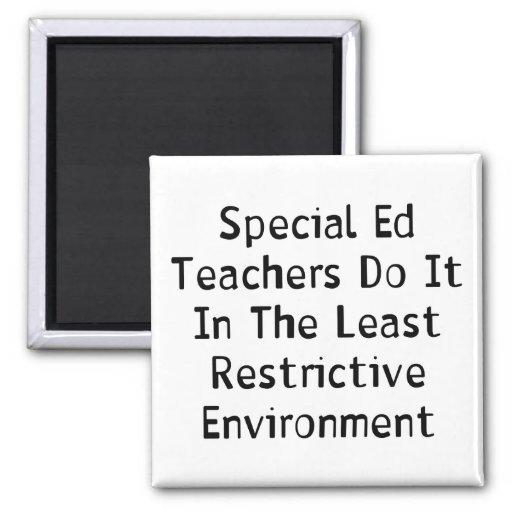 Special Ed Teachers Fridge Magnets