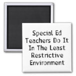 Special Ed Teachers Square Magnet