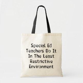 Special Ed Teachers Canvas Bag