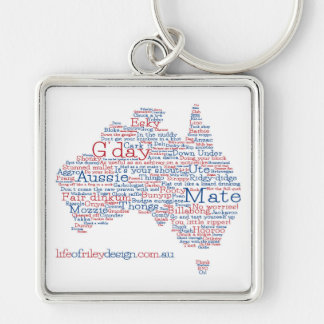 Special Edition Aussie Slang Keyring