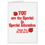 Special Education Appreciation Greeting Card