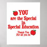 Special Education Appreciation Print