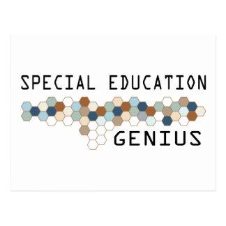 Special Education Genius Postcard