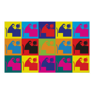 Special Education Pop Art Posters