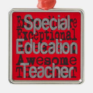 Special Education Teacher Extraordinaire Christmas Ornament