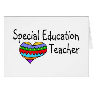 Special Education Teacher Greeting Card